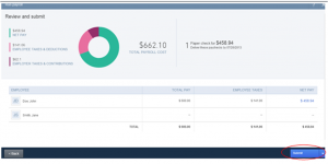 How to create one-time payroll check-5