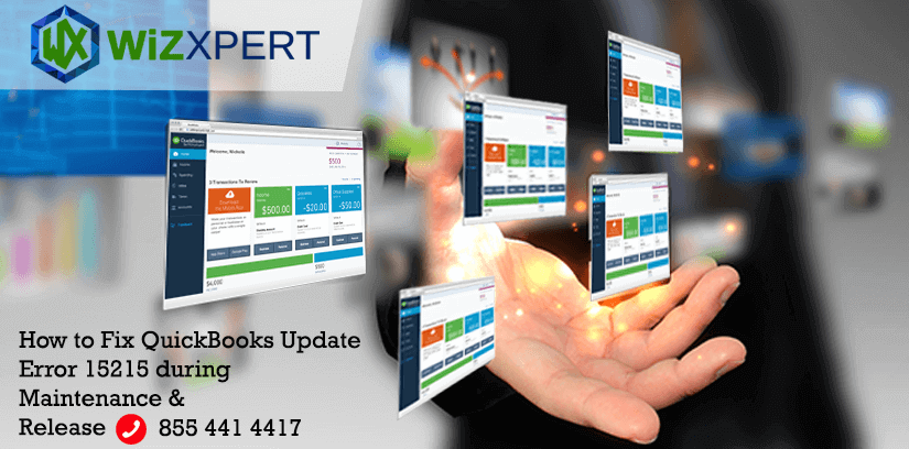 How to Fix QuickBooks Update Error 15215 during Maintenance & Release