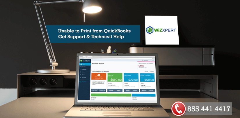 Unable to Print from QuickBooks | Get Support & Technical Help