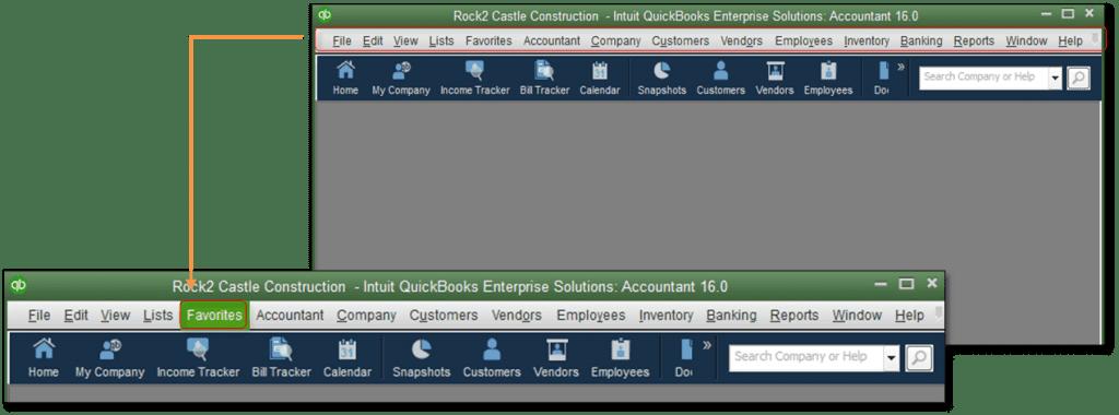 Suppress the Desktop while opening a Company File; QuickBooks Unrecoverable Error