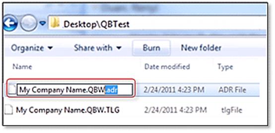 Auto data recovery; QuickBooks Error code 6123