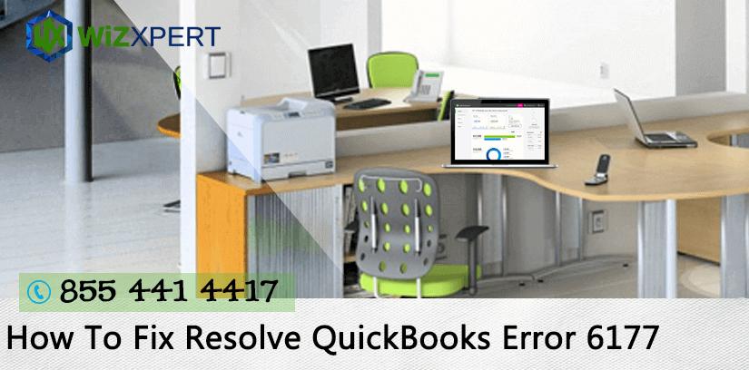 How To Fix Resolve QuickBooks Error 6177