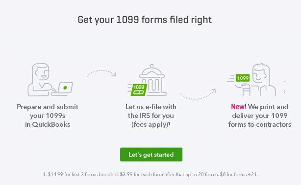 New QuickBooks 1099 Features