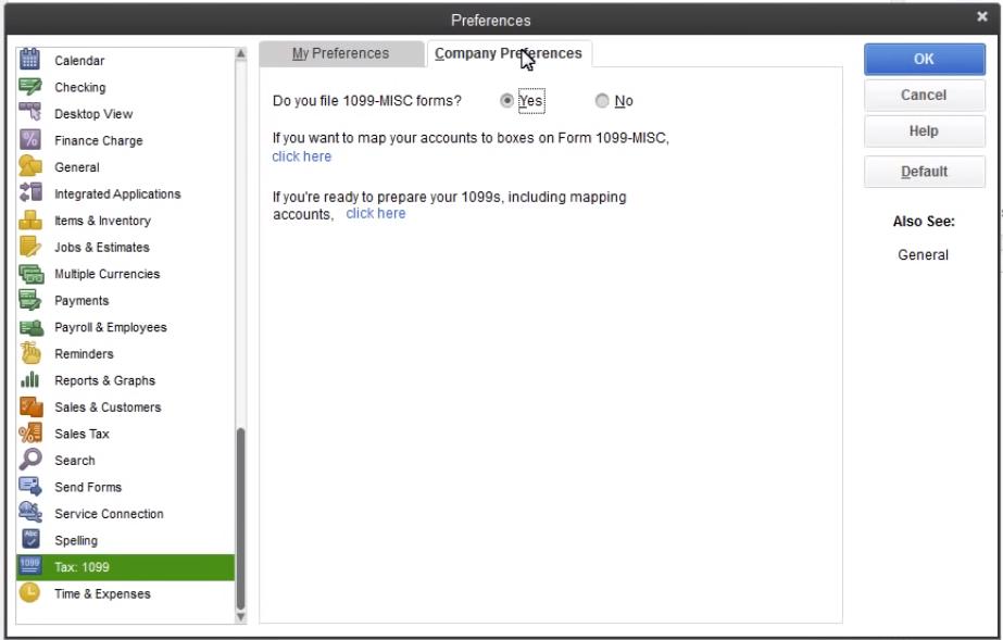 1099 Forms in QuickBooks Online