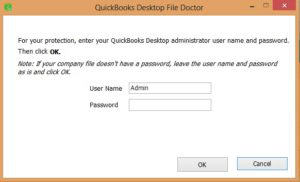 Quickbooks desktop file doctor
