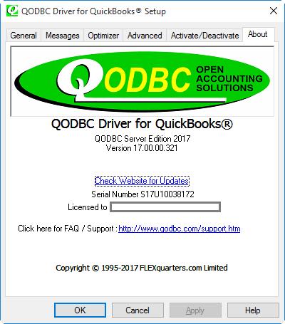 QuickBooks Enterprise ODBC Driver