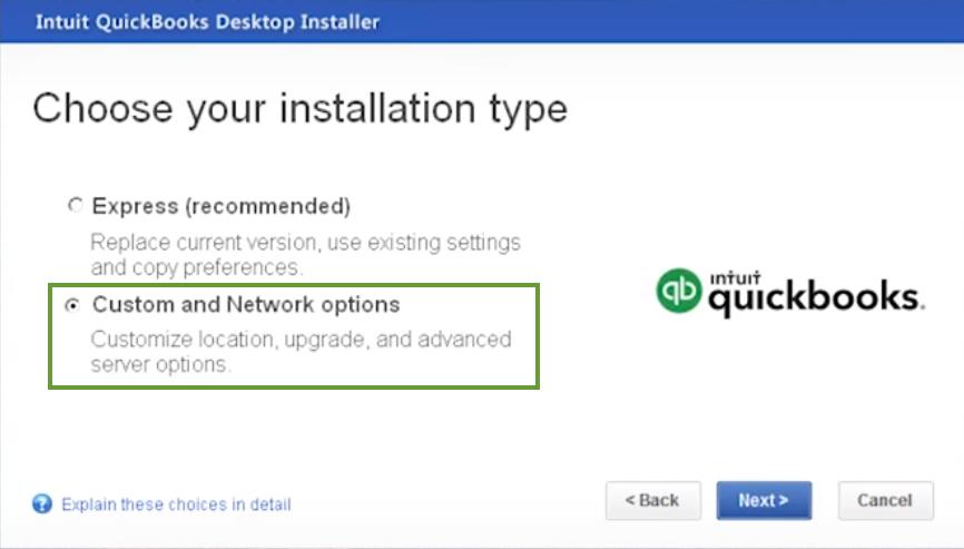Install QuickBooks Enterprise