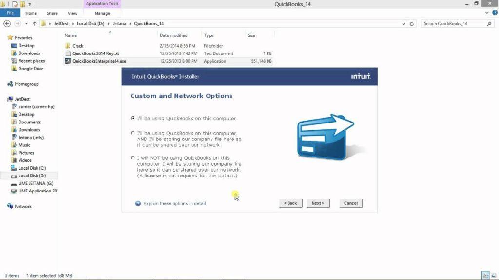 QuickBooks Desktop Enterprise Installation
