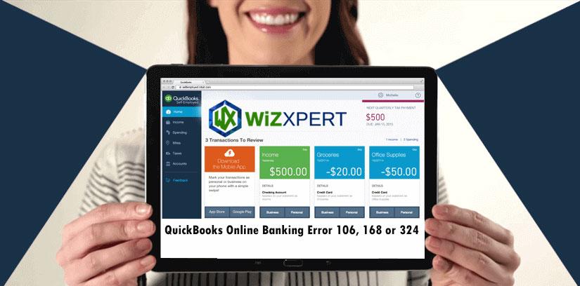 How To Fix QuickBooks Error 106, 168 or 324 (Online Banking Error)