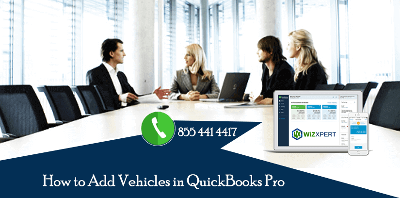 How to Add Vehicles in QuickBooks Pro