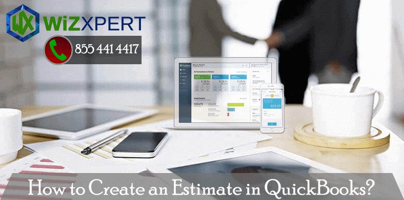 How to create an estimate in QuickBooks