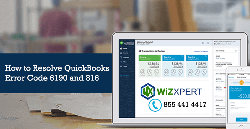 How to Resolve QuickBooks Error Code 6190 and 816