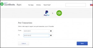 PayPal Integration with QuickBooks Online