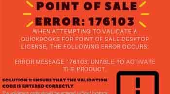 Point of Sale Error 176129