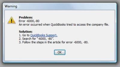 QB_Premier_2009_error_code_-6000_-80