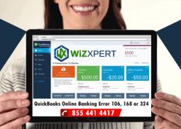 QuickBooks Online Banking Error 106, 168 or 324