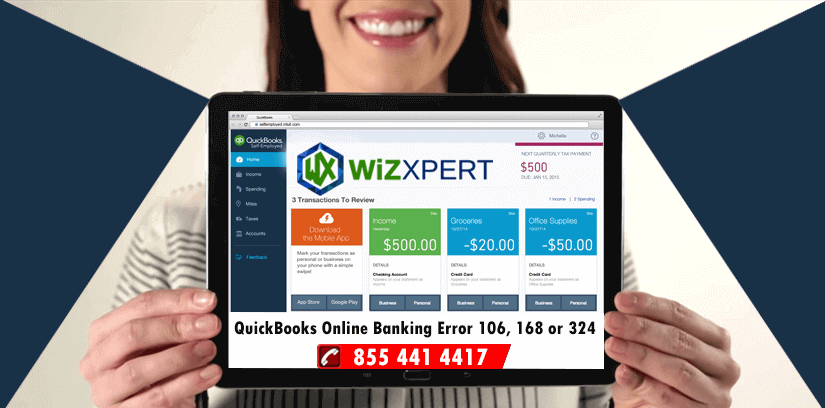 QuickBooks Online Banking Error 106, 168 or 324 [FIX]