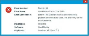 Quickbooks Error Code 6189: Fix Resolve Support 1(855) 441-4417