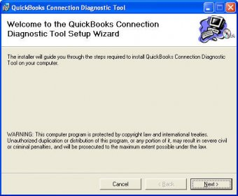 quickbooks connection diagnostic tool wizard