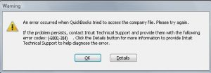 QuickBooks Error 6000-304