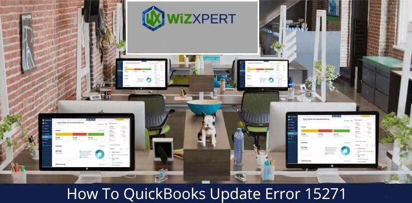 How To QuickBooks Update Error 15271