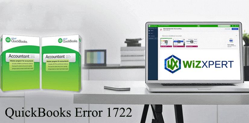 Learn How To Fix QuickBooks Error 1722 (System Error)