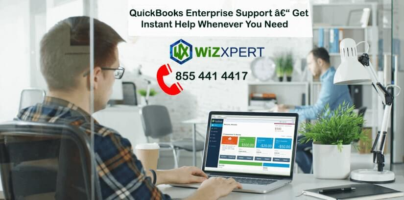 QuickBooks Enterprise Support: Get Instant Help Whenever You Need