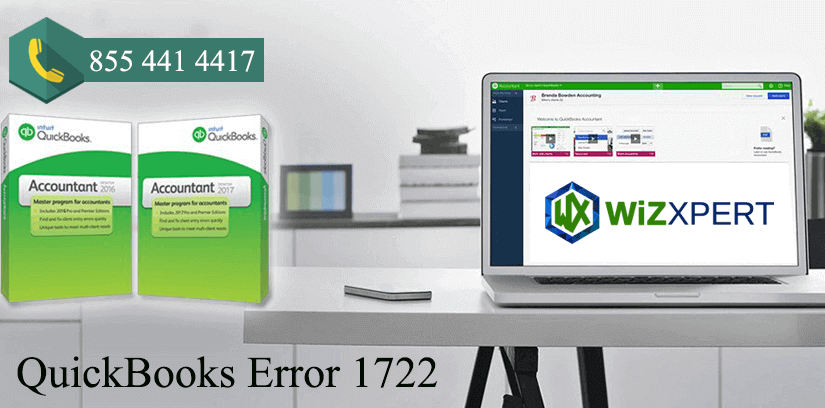 QuickBooks Error 1722: Fix Resolve Support 1(855)441-4417