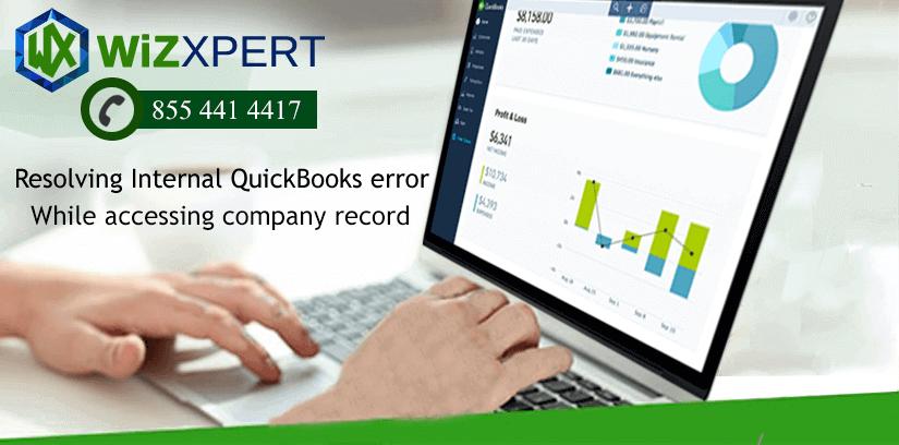 Internal QuickBooks error While accessing company record