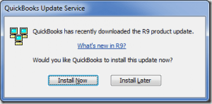 QuickBooks installation error with Windows