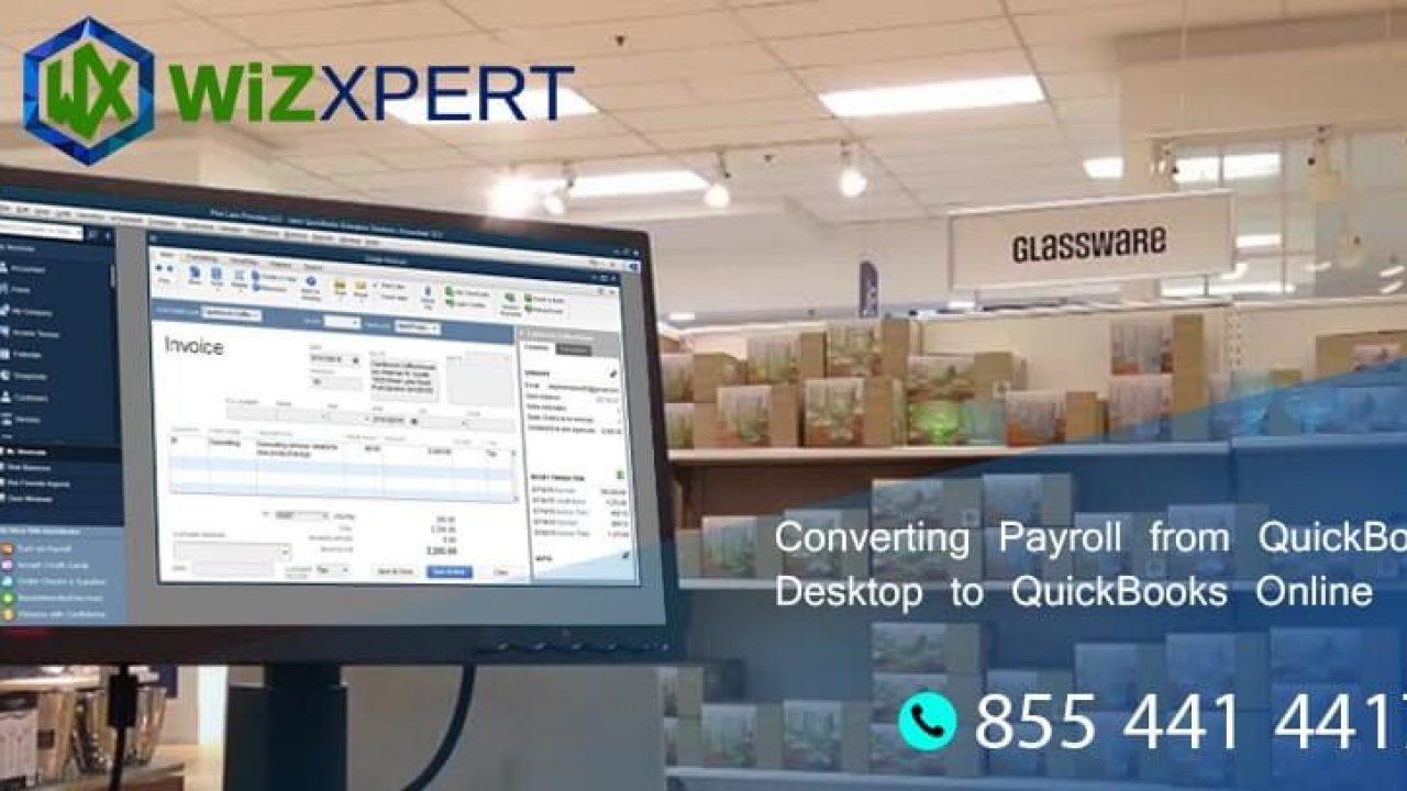 Converting Payroll from QuickBooks Desktop to QuickBooks Online