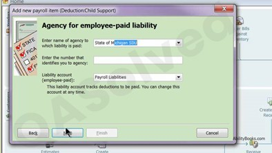 How to Set up, Create and Pay Child Support Garnishment in QuickBooks 1