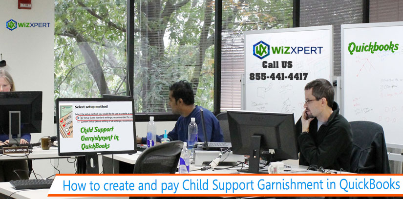 How to create and pay Child Support Garnishment in QuickBooks 1