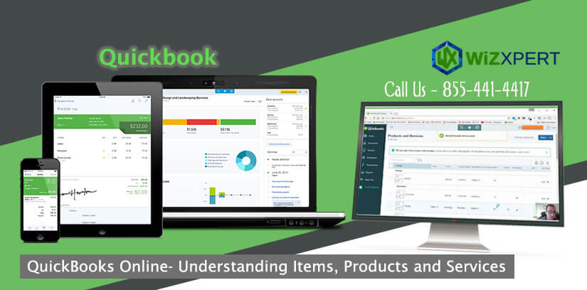 QuickBooks Online- Understanding Items, Products and Services