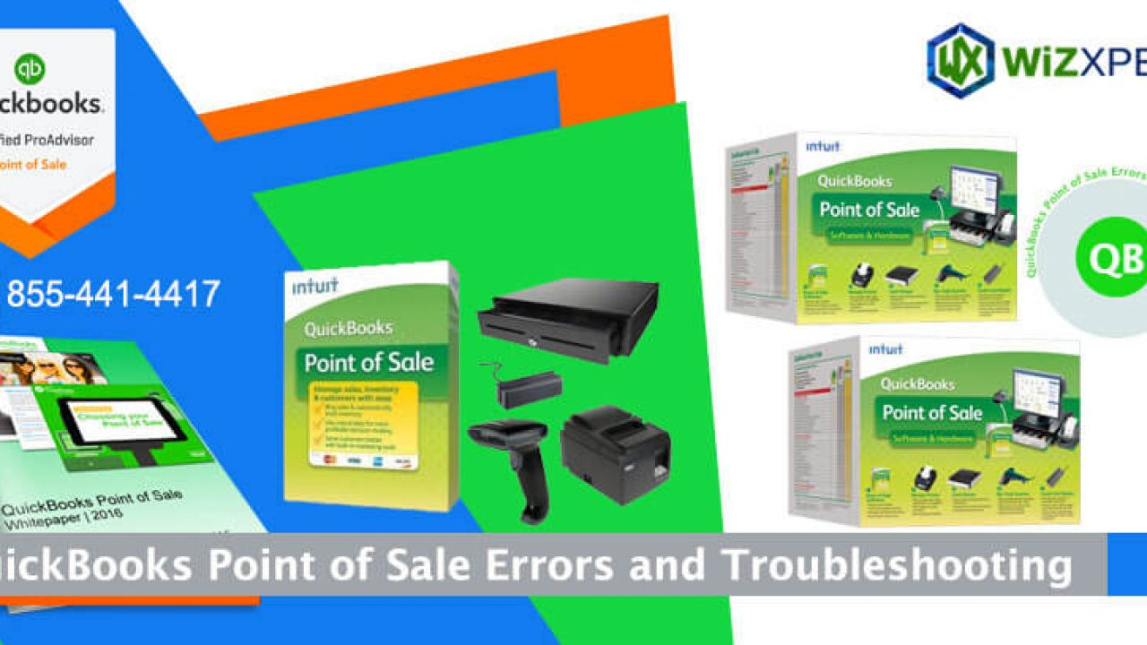 QuickBooks Point of Sale Errors and Troubleshooting
