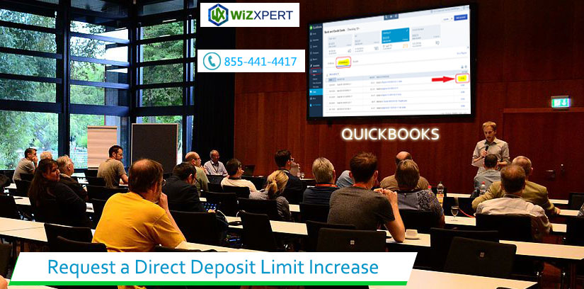Request a direct deposit limit increase