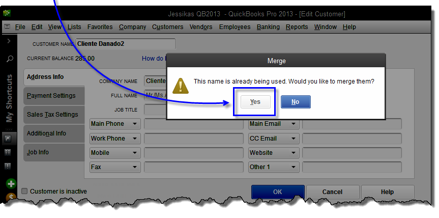 How To Merge QuickBooks Customer To Fix Integration Issue With QuickBooks Payments  2