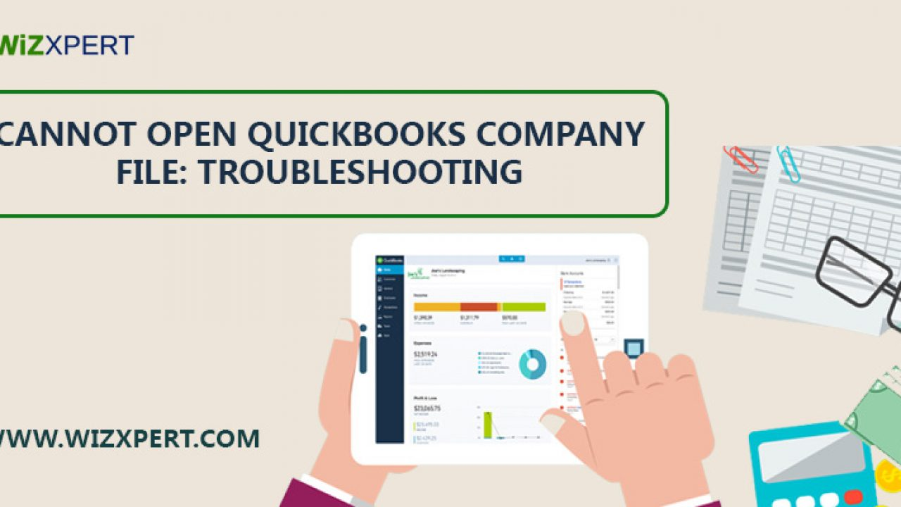 Fix Issue: Cannot open QuickBooks Company File [Troubleshooting]