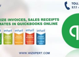 Customize Invoices, Sales Receipts & Estimates in QuickBooks Online
