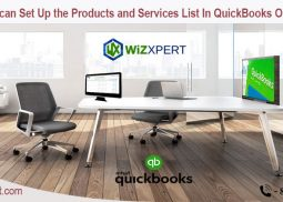 How can Set Up the Products and Services List In QuickBooks Online