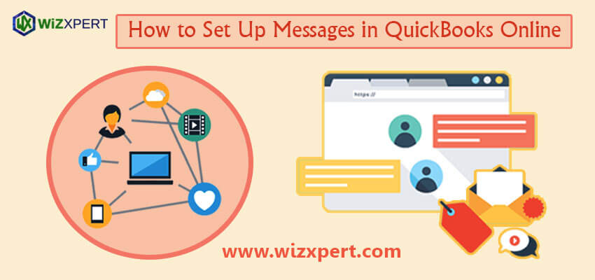 How to Set Up Messages in QuickBooks Online