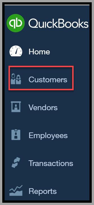 Add Customers in QuickBooks Online