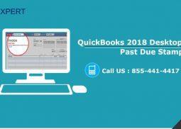 QuickBooks 2018 Desktop: Invoice Past Due Stamp