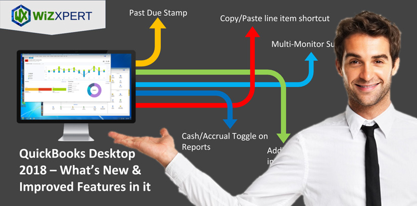 QuickBooks Desktop 2018 – What's New & Improved Features in it