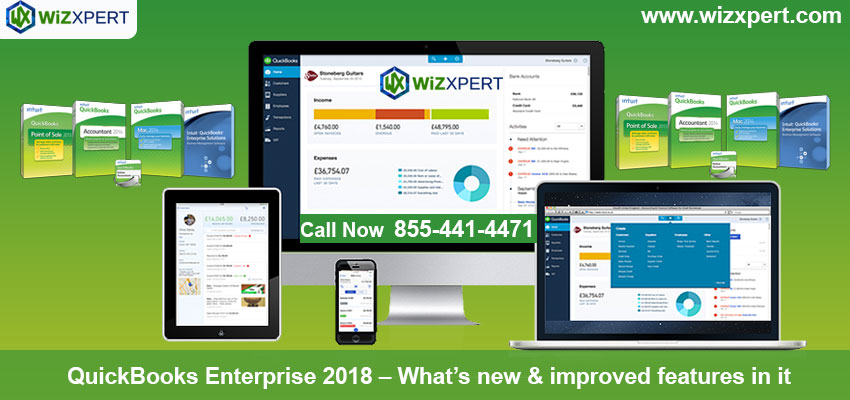 QuickBooks Enterprise 2018 - What's new & improved features in it