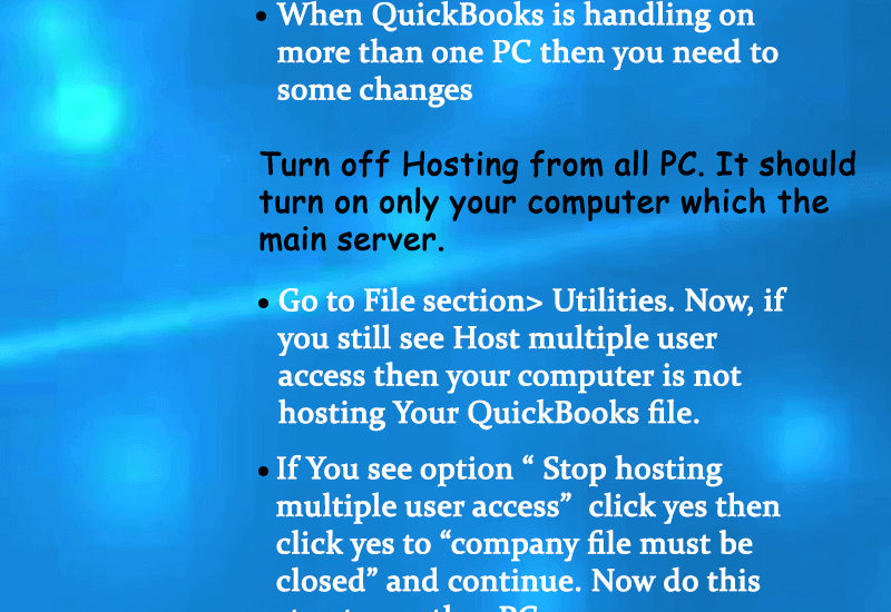 QuickBooks Error 6000,-83 Infographics