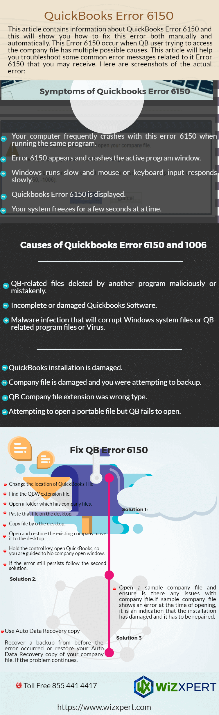 QuickBooks Error 6150 Infographics