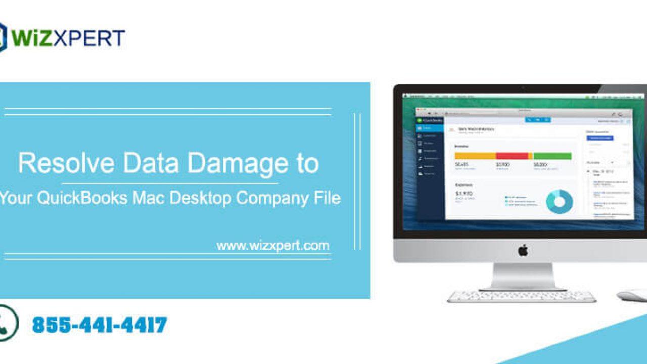Resolve Data Damage to your QuickBooks Mac Desktop