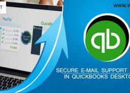 E-mail Support service in QuickBooks Desktop