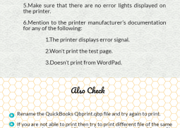 Troubleshooting QuickBooks Printing Problems